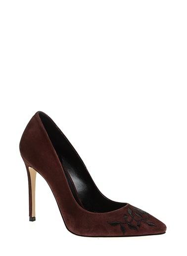 Divarese Topuklu ayakkabı Bordo